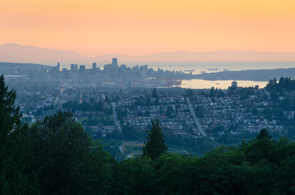 The city of Vancouver, British Columbia, Canada as seen one evening from Burnaby Mountain_shutterstock_538006825.jpg